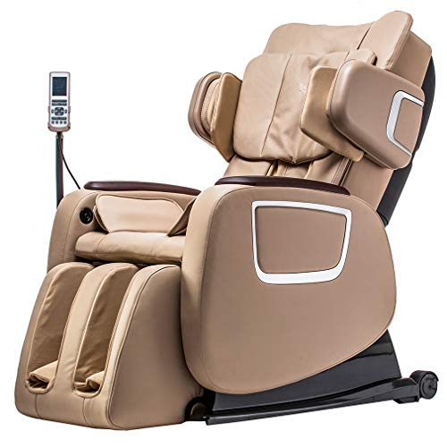 BestMassage Full Body Zero Gravity Shiatsu Massage Chair Recliner w/Heat and Long Rail