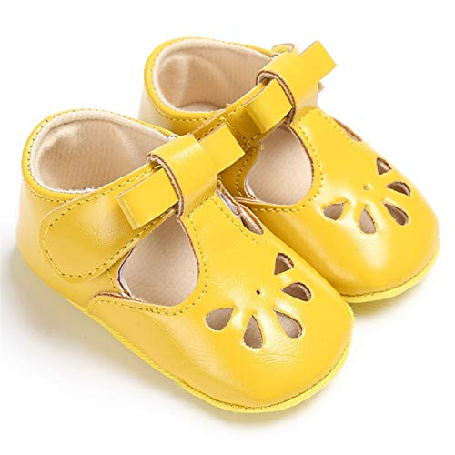 Yellow Infant Shoes