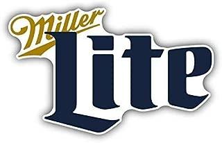 CA POWER Miller Lite Beer Drink Bumper Sticker Car Truck Window Decal 4 Pack 2.5 inch