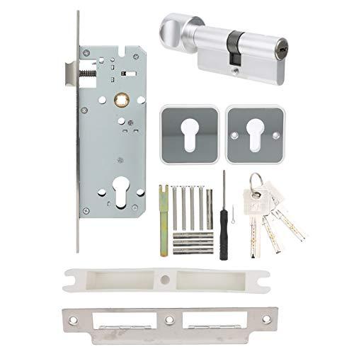 Intelligent Door Lock, Zinc Alloy Door Handle Lock, Fingerprint APP Password Unlock, Keyless Entry Door Lock, 5 Unlocking Methods