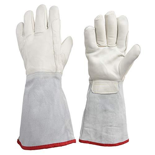 idalinya kryogenshandske 40 cm lång lng vätska kväve behandling skyddande arbete kryo handskar frusen kall förvaring