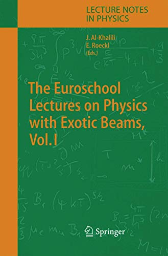 The Euroschool Lectures on Physics with Exotic Beams: 1