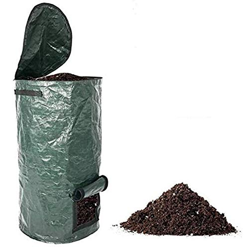 Best Prices! FMXYMC Agricultural Compost Bag, Collapsible Compost Bin, Yard Waste Bag, Reusable Heav...