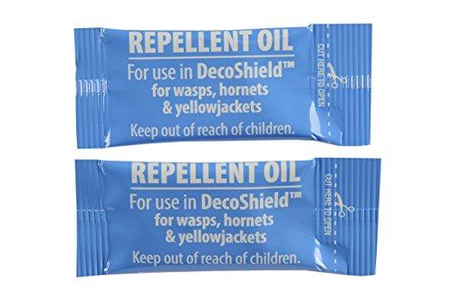 RESCUE! YJDS-R YJDS-R-DB12 Yellowjacket Repellent DecoShield Refill