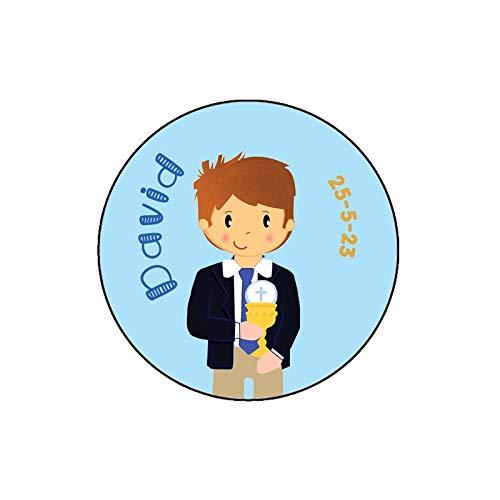 Bodas Outlet Pegatinas Personalizadas Comunion Niño (20)