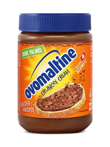 Crema crujiente de ovomaltina sin aceite de palma, 380 g, (1x380g)