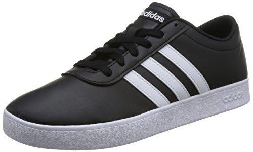 adidas Herren Easy Vulc 2.0 B43665 Skateboardschuhe, Schwarz (Negbás/Ftwbla/Negbás 000), 42 2/3 EU