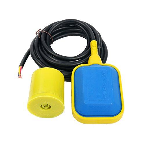 YaeTek 4M Kabel Schwimmerschalter Wasserstandsregler für Tankpumpe, Septiksystem, Sumpfpumpe, Wassertank
