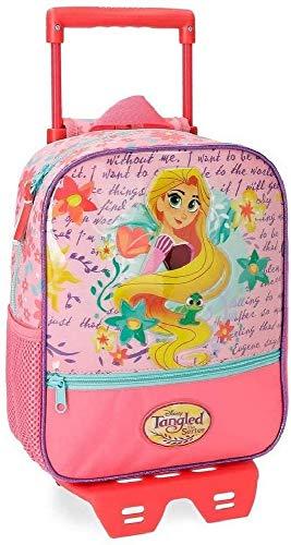 La mejor mochila con ruedas de frozen: Mochila Preescolar Rapunzel