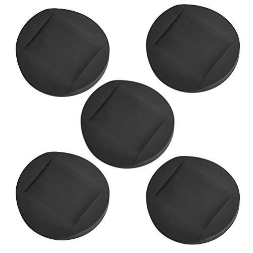 Gummi-Möbeluntersetzer für Möbel, Anti-Rutsch-Füße, PVC-Stopper für Bett, Sofa, 5 Stück