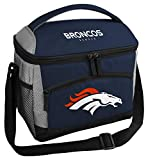 Rawlings NFL Soft Sided Insulated Cooler Bag/Lunch Box, 12-Can Capacity, Denver Broncos