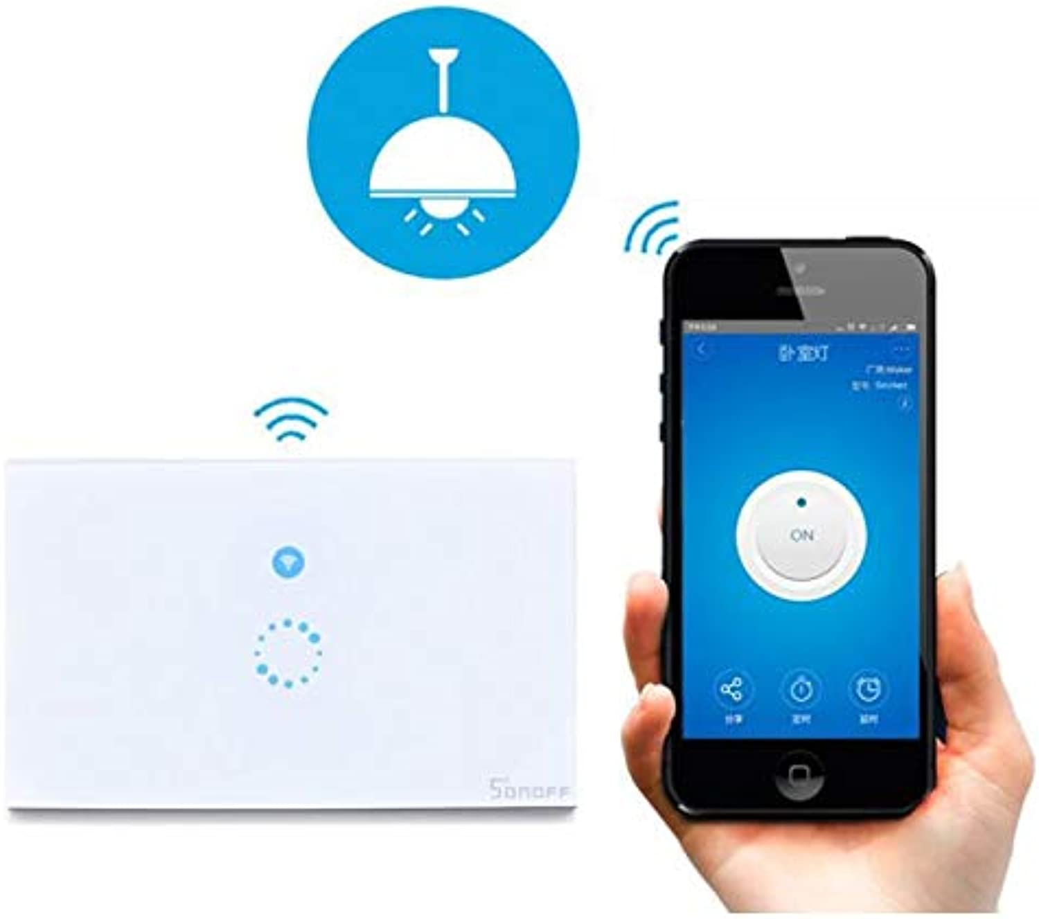Switch Touch The Switch Home & Kitchen U.S. Regulations Switches & Wire Wirelessremotecontrol Smartre Motecontrol Timing