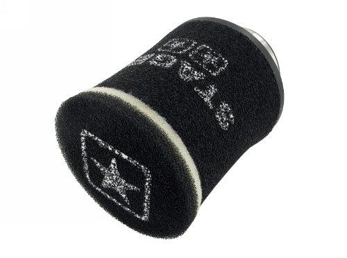 Racingluftfilter STAGE6 Double-Layer rund schwarz 70mm