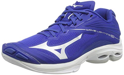 Mizuno Damen Wave Lightning Z6 Volleyballschuhe, Blue/Surf The Web, 38.5 EU
