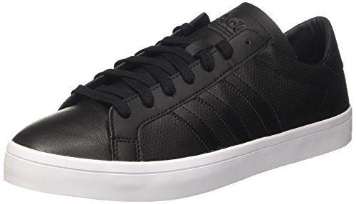 adidas Court Vantage, Scarpe da Ginnastica Basse Unisex-Adulto, Nero Black Bz0442, 44 2/3 EU