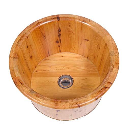 Bois De Cèdre Pieds Pieds Bucket Pieds Pieds En Bac Bucket Avec Des Pieds D'eau Pieds En Bac Seau Bain De Pieds Baril De Bois De Cèdre Bain De Pieds Avec De L'eau Barrel Bath Bassin (Color : A30cm)
