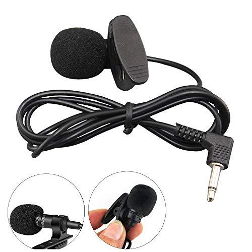VICKY-HOHO 3,5 mm Klinkenmikrofon Omnidirektionaler Kondensator Mikrofon Elektronik Gadgets Lautsprecher