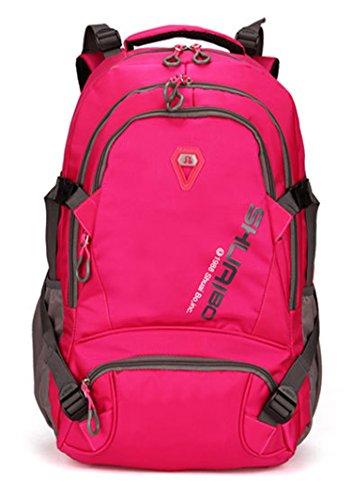 Shuaibo Schul Rucksack Laptoptasche 15.6 Zoll gepolstert Schulranzen Reise Mode Wasserfest