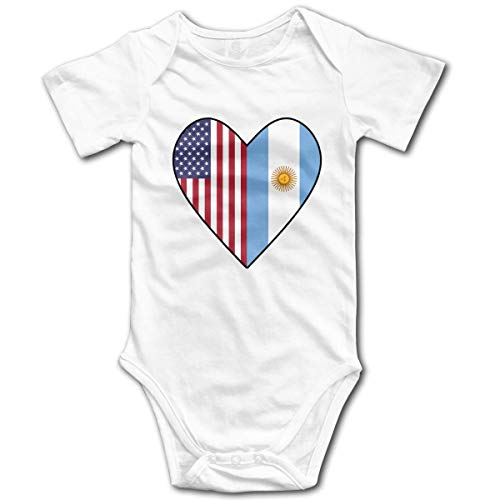 90ioup I Love Water Ski Newborn Baby Girl Clothes Short Sleeve Baby Girls Bodysuit