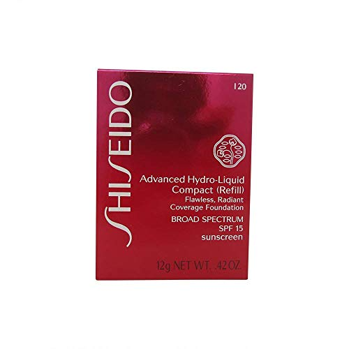 Shiseido Foundation Advanced Hydro-Liquid Compact Refill I20 Natural Light Ivory, 12 g