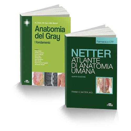 Anatomia per Farmacia. Atlante anatomia umana. Selezione tavole per farmacia e CTF-Anatomia del Gray. I fondamenti [Due volumi indivisibili]