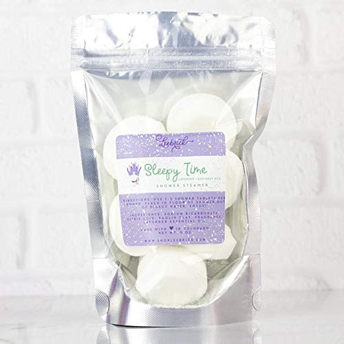 Lavender Scented Sleepy Time Mini Shower Steamers Aromatherapy Gift