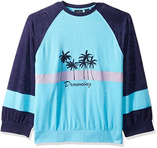 PUMA Fenty Crew Neck Pullover Sudadera, Bluefish, S para Hombre