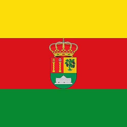 magFlags Bandera Large Fuentelcésped, Burgos, España | 1.35m² | 120x120cm