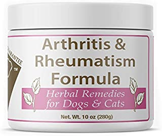 Doc Ackerman - Herbal Arthritis & Rheumatism - 10 oz | Professionally Formulated Herbal Remedy for Dogs & Cats | Enhanced with Glucosamine Sulfate, Celery Seed & Dandelion