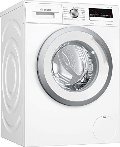 Bosch WAN28270 Serie 4 Waschmaschine Frontlader / A+++ / 137 kWh/Jahr / 1400 UpM / 6 kg / weiß / Nachlegefunktion / ActiveWater Mengenautomatik