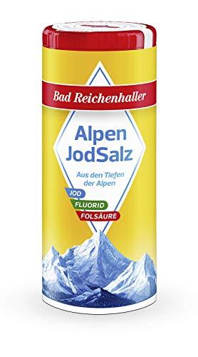 Bad Reichenhaller Salz Jod plus Folsäure, 1er Pack (1 x 125 g)