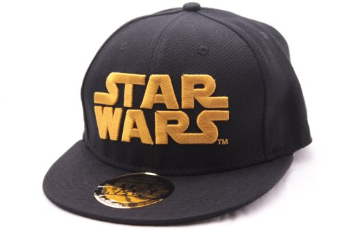 Star Wars – Casquette de baseball – Logo doré (noir)
