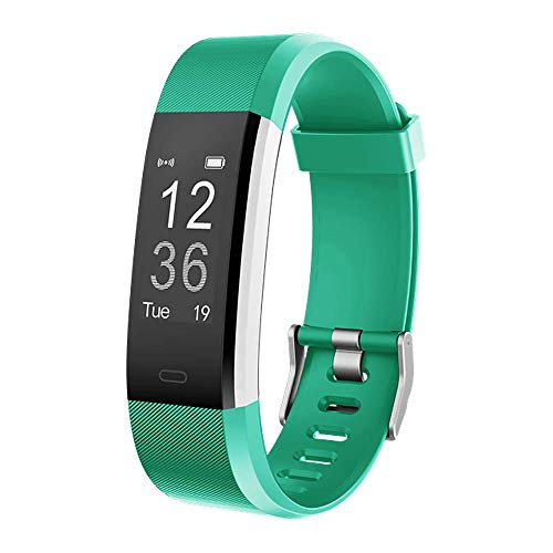 Delvfire Pulse Fitness Tracker with Heart Rate Monitor, Sports Mode, Step...