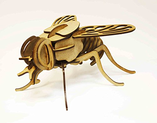 Puzzles 3d mosca