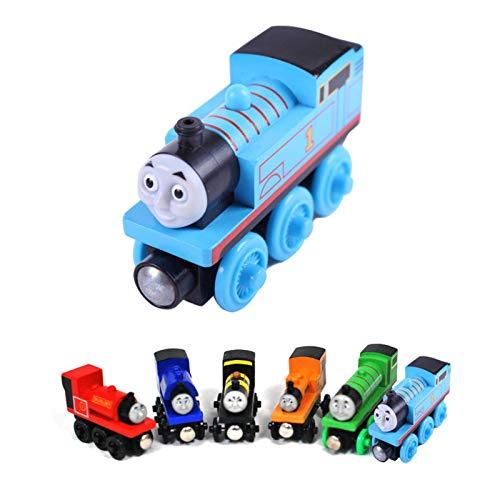 N-B Thomas und Seine Freunde FHM16 aus Holz Thomas, Thomas Kraftstofftankmotor, Spielzeugmotor, Holzspielzeugzug