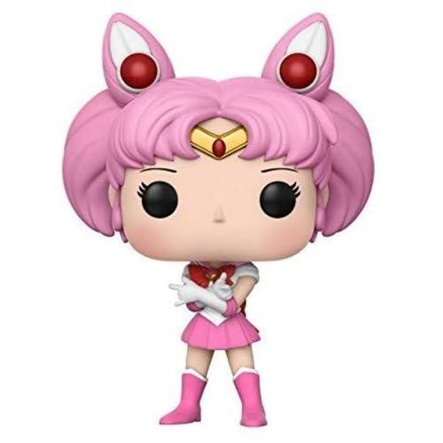 Funko- Pop Vinile Anime Sailor Chibi Moon w/Luna P, 9 cm, 13753