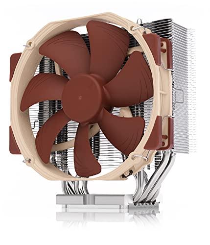 Noctua NH-U14S DX-4189, Disipador de CPU, Silencioso Intel Xeon LGA4189 (140 mm, Marrón)
