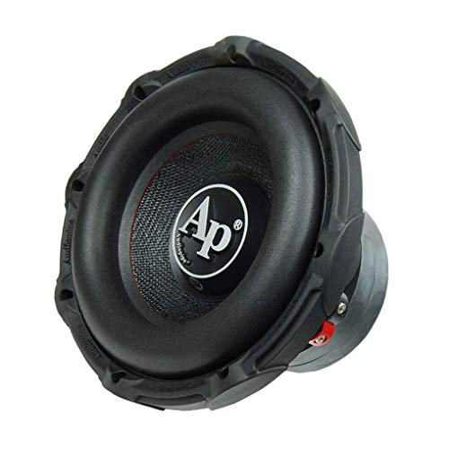 Audiopipe 10 Inch Loud 1,200 Watt Max 4 Ohm DVC Powerful High Performance Car Mounting Audio Subwoofer System