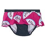 Sterntaler Baby - Mädchen Schwimmrock mit Windeleinsatz, UV-Schutz 50+, Alter: 6-12 Monate, Größe: 74/80, Farbe: Magenta