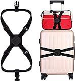 スーツケース ベルト バッグとめるベルト ずり落ち防止 荷物固定ストラップ 軽量 持ち便利 調整可能 旅行 出張用