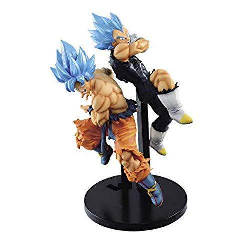 Banpresto Dragon Ball S TAG FIGHTERS VEGETA SON GOKOU Figure Figurine 17cm 2set