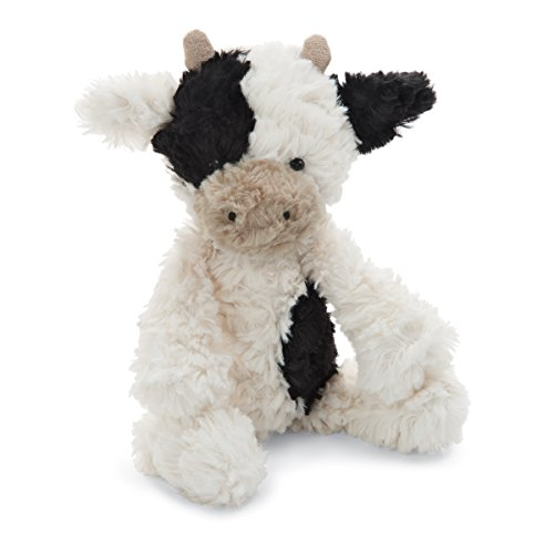 Jellycat Squiggle Calf Stuffed Animal, Small, 9 inches
