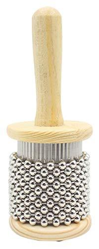 hsj Pop Holz Cabasa Shaker Kleine Handschlaginstrument Mittel Klein Exquisite Verarbeitung (Size : 10cm)