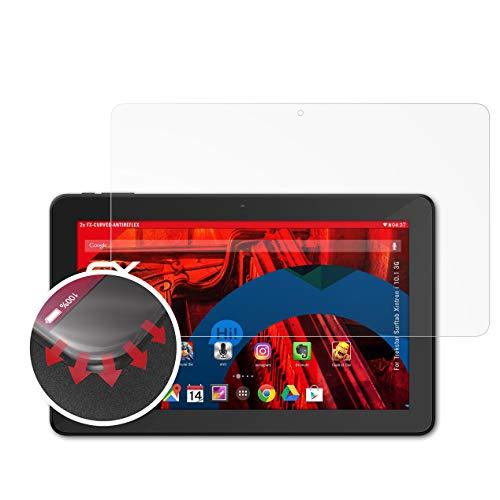atFolix Schutzfolie kompatibel mit Trekstor Surftab Xintron i 10.1 3G Folie, entspiegelnde & Flexible FX Bildschirmschutzfolie (2X)