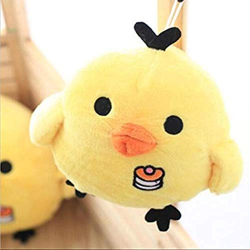 stogiit Kawaii Cute 15Cm Yellow Chicken Plush Toys Rilakuma Relax Chick Stuffed Toys Baby Toy Regalo de cumpleaños