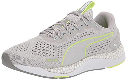 PUMA womens Speed Running Shoe, Gray Violet-fizzy Yellow, 8.5 US