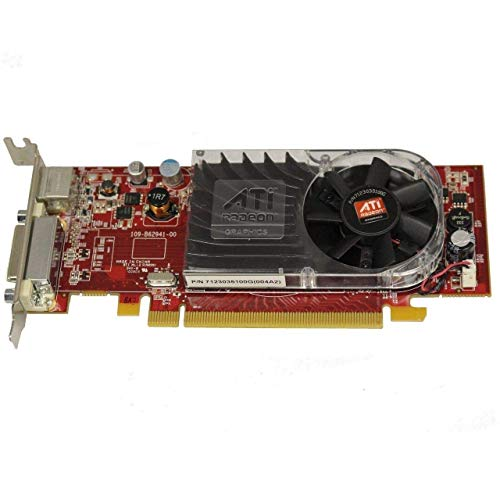 ATI Radeon HD 3450 256MB DDR2 PCI Express (PCI-E) DMS-59 Low Profile Video Card w/TV-Out & DMS-59 Cable
