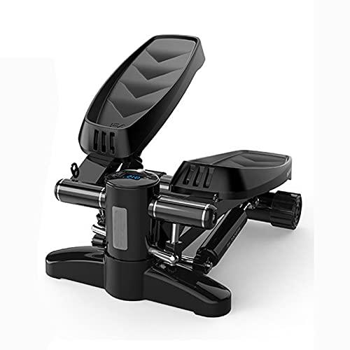HZLGFX Escalera PortáTil De Pasos, MáQuina De Gimnasio, MáQuina De Pasos para Interiores con Monitor LCD, MáQuinas De Pasos para El Hogar para Fitness Y Ejercicio
