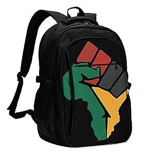 XCNGG The Blacks Stand Up Travel Laptop Mochila College School Bag Mochila Informal con Puerto de Carga USB