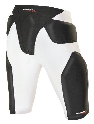 KOMPERDELL Herren Protektoren Airshock Short, weiß-schwarz, M, 6043-211